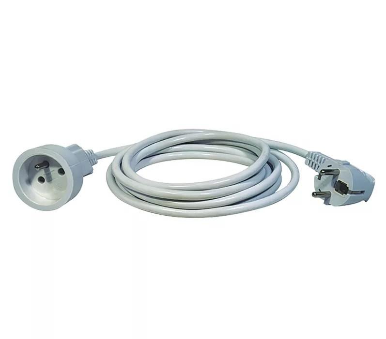 Síťové kabely Prodlužovací kabel Emos P0111, 1xzásuvka, 1,5m, bílý
