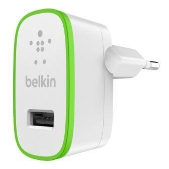 Síťové nabíječky (230V) BELKIN USB 230V nabíječka, 1xUSB ,2.1A bílá (F8J052cwWHT)