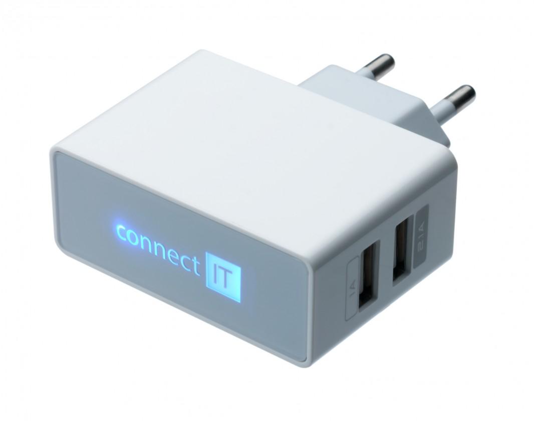 Síťové nabíječky (230V) Nabíječka CONNECT IT CI-151 - neoriginální