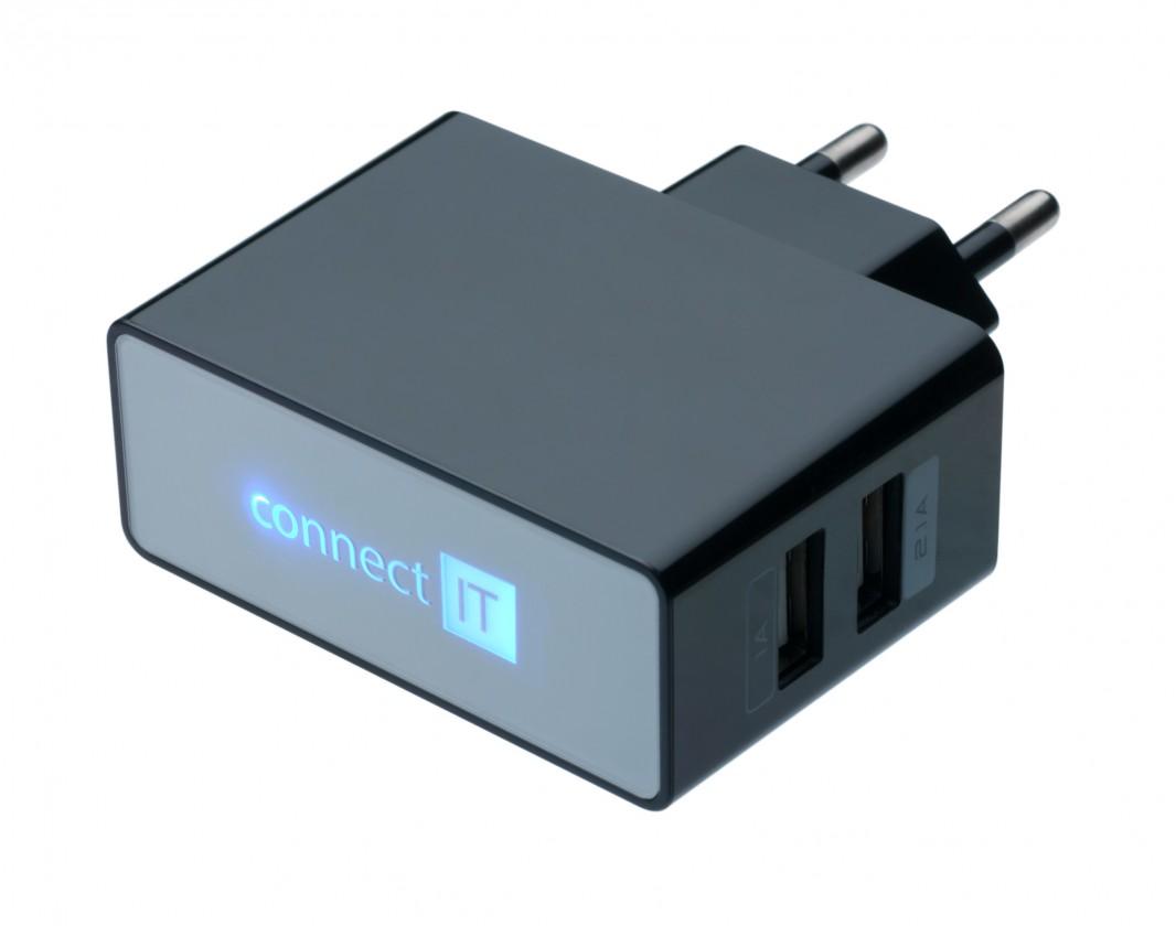 Síťové nabíječky (230V) Nabíječka Connect IT CI-153 - neoriginální