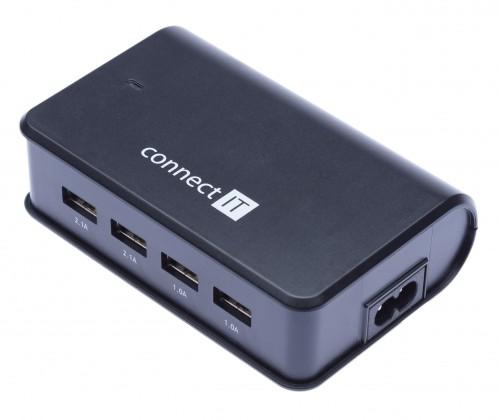 Síťové nabíječky (230V) Nabíječka CONNECT IT CI-497 - neoriginální