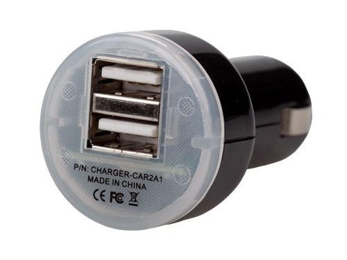Síťové nabíječky (230V) USB High Power Car Charger 2.1A (iPAD ready)
