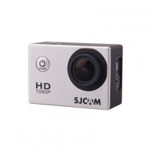 SJCAM SJ4000 sportovní kamera - stříbrná