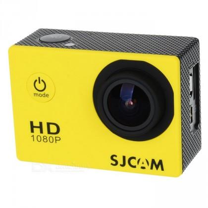 SJCAM SJ4000 sportovní kamera - žlutá