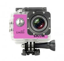 SJCAM SJ4000 WIFI sportovní kamera - růžová
