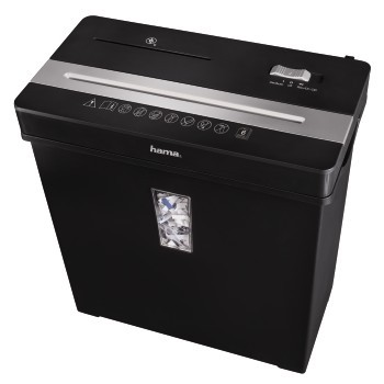 Skartovačka Hama skartovačka Premium X8CD, křížový řez
