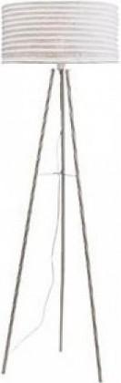 Skephult - Lampa podlahová (kov/textil/béžová)