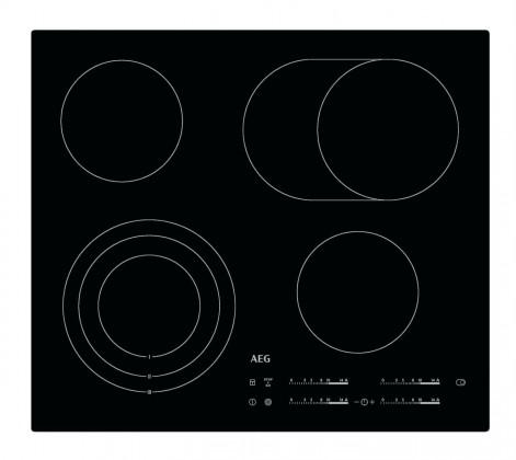 Sklokeramická varná deska AEG HK 654070I-B