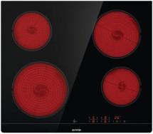 Sklokeramická varná deska Gorenje Essential CT41SC černá