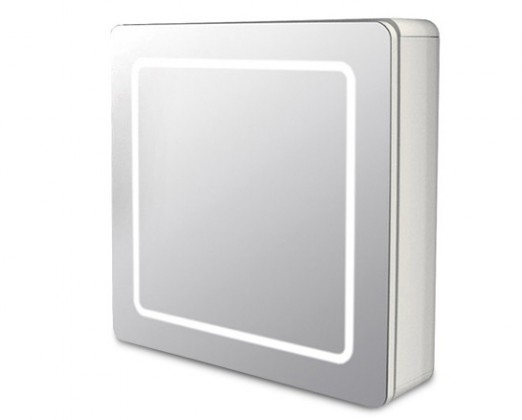 Skříňka nad umyvadlo Zrcadlová skříňka ZS 240 s LED osvětlením (zrcadlo)