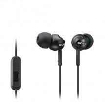 Sluchátka do uší Sony MDR-EX110AP, černá