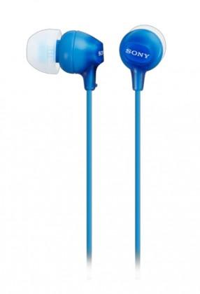 Sluchátka do uší Sony MDR-EX15LP, modrá