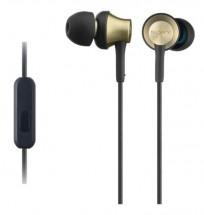 Sluchátka do uší Sony MDR-EX650APT, černo-zlatá