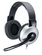 Sluchátka Genius HS-05A, s mikrofonem POUŽITÉ, NEOPOTŘEBENÉ ZBOŽÍ