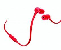 Sluchátka JBL T110 červená
