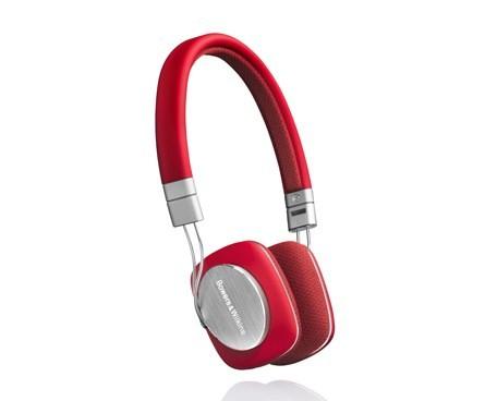 Sluchátka přes hlavu B&W (Bowers & Wilkins) B&W P3 Red
