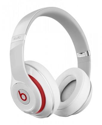Sluchátka přes hlavu Beats By Dr. Dre Beats Studio 2.0, bílá - MH7E2ZM/A
