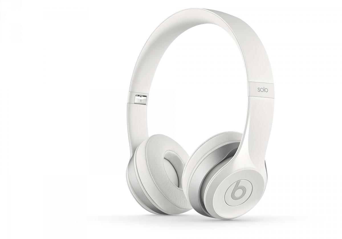 Sluchátka přes hlavu Beats By Dr. Dre Solo 2, bílá - MH8X2ZM/A