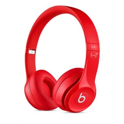 Sluchátka přes hlavu Beats By Dr. Dre Solo 2, červená - MH8Y2ZM/A