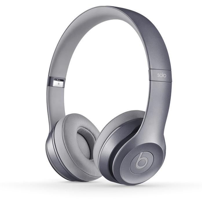 Sluchátka přes hlavu Beats Solo 2, Royal Collection, šedá - MHNW2ZM/A
