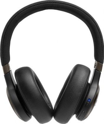 Sluchátka přes hlavu Bezdrátová sluchátka JBL LIVE 650BTNC, černá