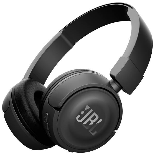 Sluchátka přes hlavu Bezdrátová sluchátka JBL T460BT černá