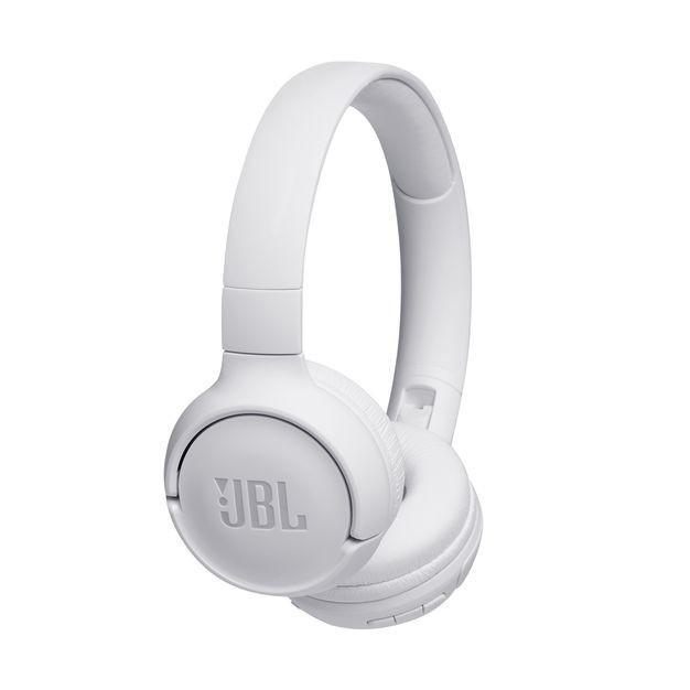 Sluchátka přes hlavu Bezdrátová sluchátka JBL Tune 500BT, bílá