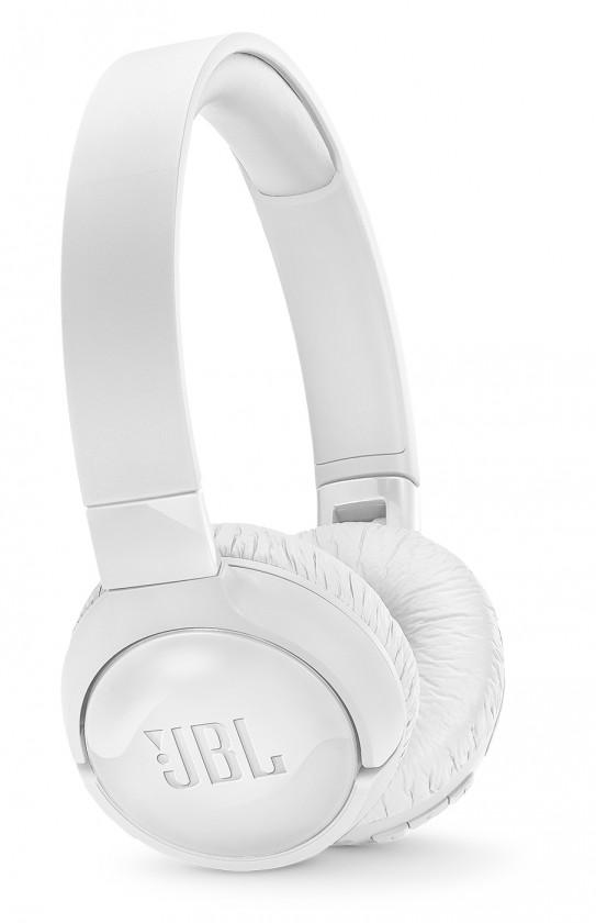 Sluchátka přes hlavu Bezdrátová sluchátka JBL Tune600BTNC bílá