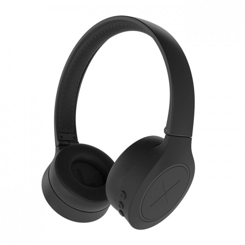 Sluchátka přes hlavu Bezdrátová sluchátka KYGO A3/600 Black