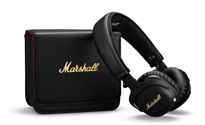 Sluchátka přes hlavu Bezdrátová sluchátka Marshall Mid A.N.C. černá