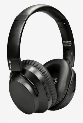 Sluchátka přes hlavu Bezdrátová sluchátka Meliconi MySound Speak Quiet, černá
