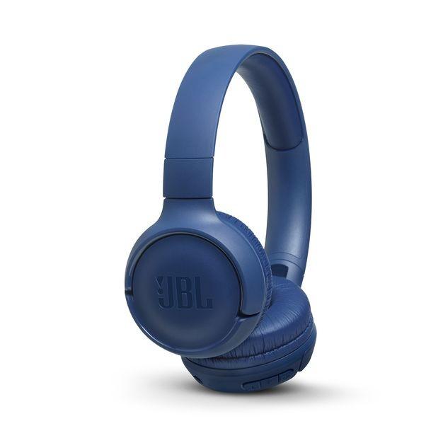 Sluchátka přes hlavu Bezdrátová sluchátka přes hlavu JBL Tune 500BT modrá