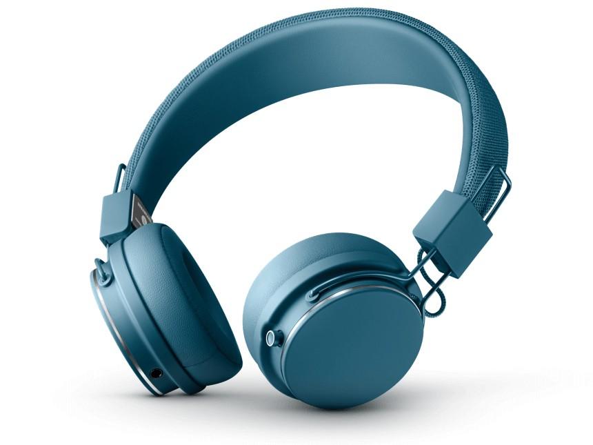Sluchátka přes hlavu Bezdrátová sluchátka Urbanears Plattan II BT, modrá