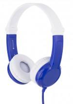 Sluchátka přes hlavu BuddyPhones Connect, modrá