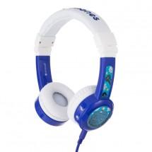 Sluchátka přes hlavu BuddyPhones Inflight, modrá