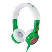 Sluchátka přes hlavu BuddyPhones Inflight, zelená