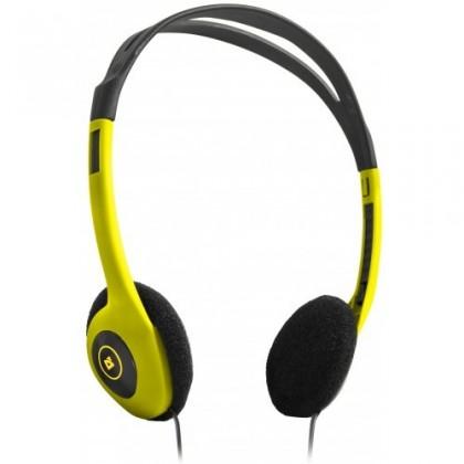 Sluchátka přes hlavu Defender Aura HN-001 / Yellow