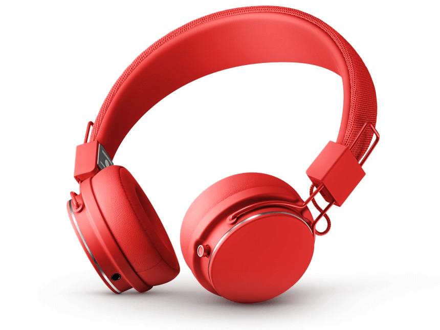 Sluchátka přes hlavu Designová sluchátka Urbanears PLATTAN II,červená, Bluetooth