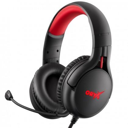 Sluchátka přes hlavu Herní sluchátka  Niceboy ORYX X410 Epic, 7.1