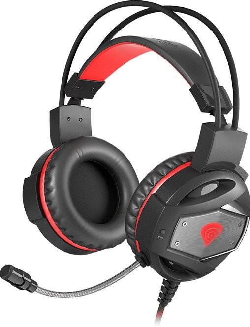 Sluchátka přes hlavu Herní sluchátka s mikrofonem Genesis Neon 350