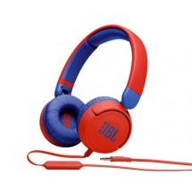 Sluchátka přes hlavu JBL JR310, červená