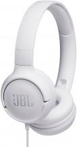 Sluchátka přes hlavu JBL Tune 500 bílá