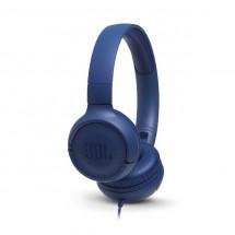 Sluchátka přes hlavu JBL Tune 500 modrá OBAL POŠKOZEN