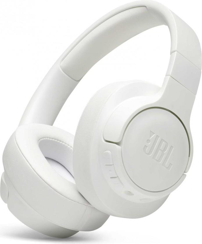 Sluchátka přes hlavu JBL Tune 700BT, bílá