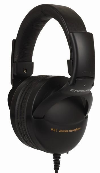 Sluchátka přes hlavu Koss HQ/1 (doživotní záruka)