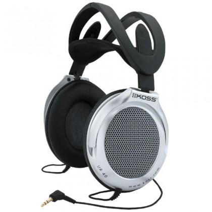 Sluchátka přes hlavu Koss UR/40 (doživotní záruka)
