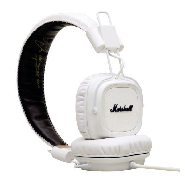 Sluchátka přes hlavu MARSHALL Major White