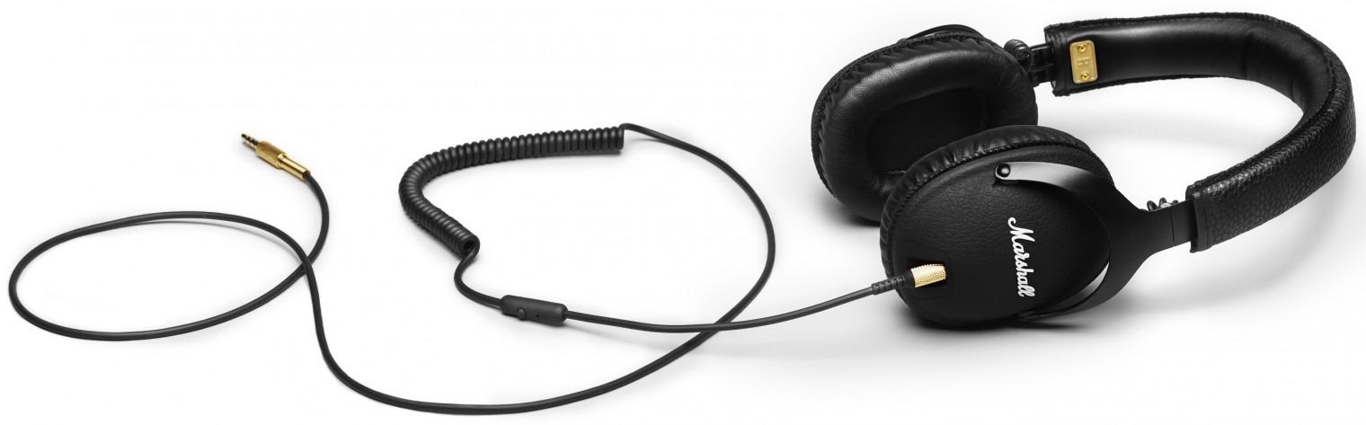 Sluchátka přes hlavu Marshall Monitor Black