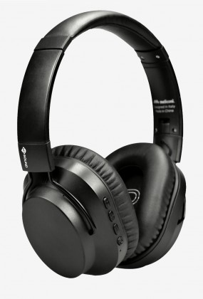 Sluchátka přes hlavu Meliconi 497470 SPEAK Quiet BK Sluchátka BT 5.0 s funkcí ANC