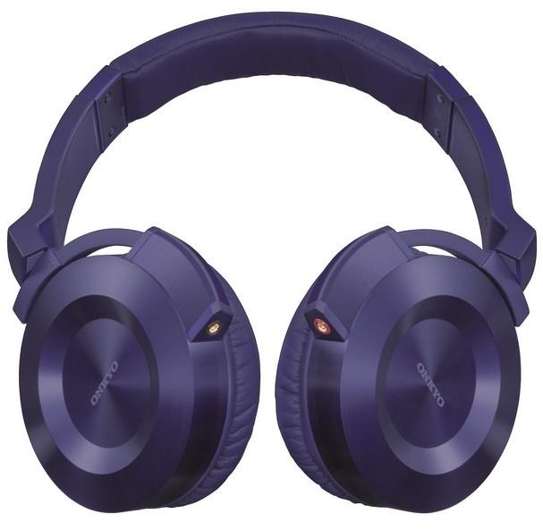 Sluchátka přes hlavu Onkyo ES-FC300 fialová